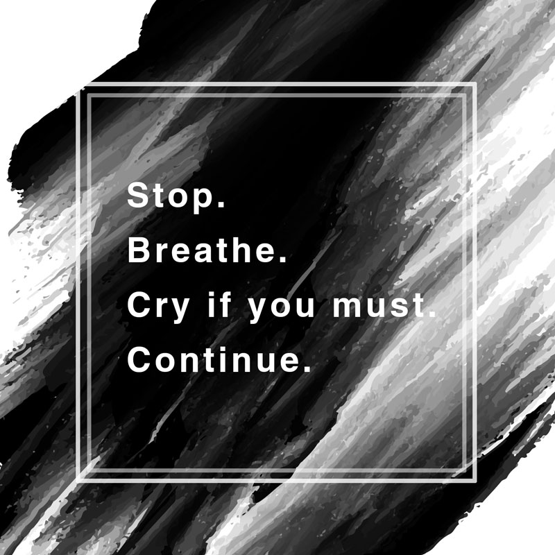 stop-breathe-quote inspirational quote