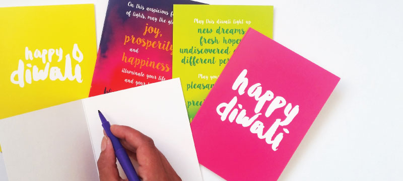 What To Write In A Card Diwali The Playful Indian