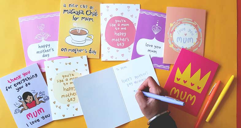 What To Write In A Card Mother S Day The Playful Indian
