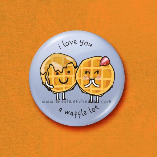 i love you a waffle lot accessory
