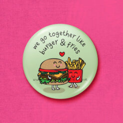 burger and fries accessory