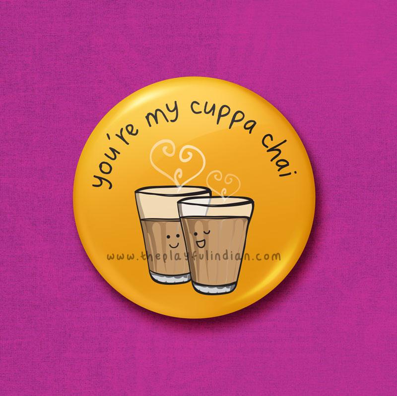 my cuppa chai accessory