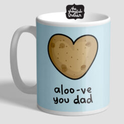 Aloo-ve You Dad Mug