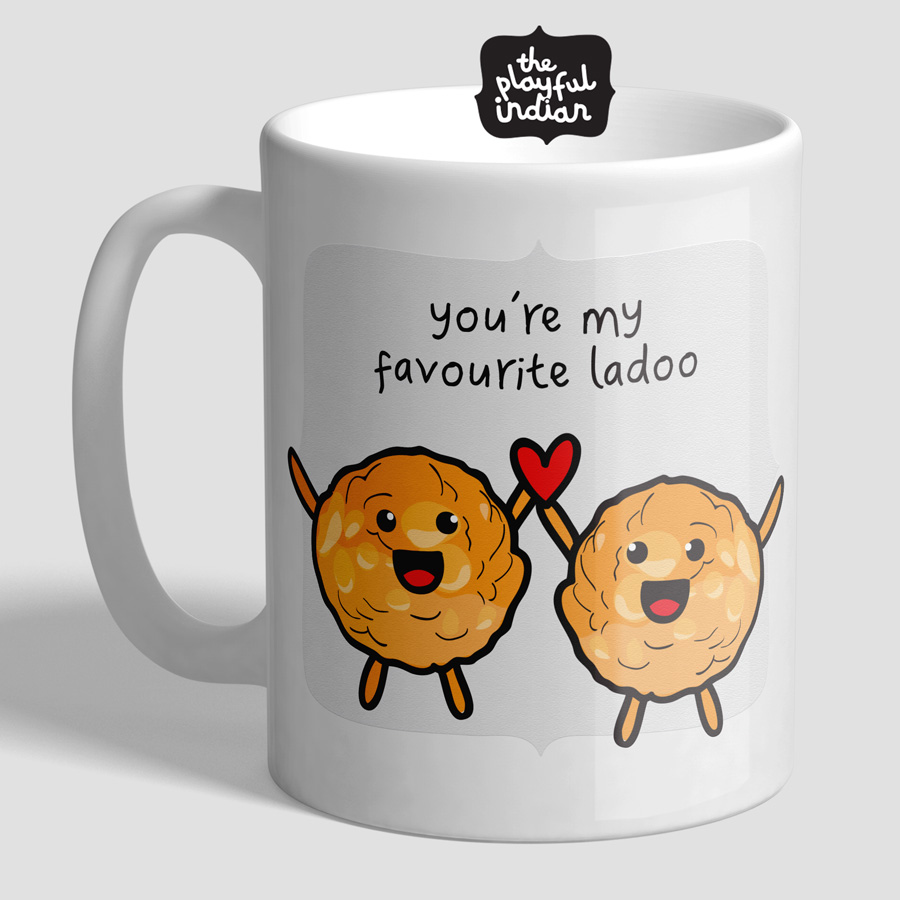 You're My Favourite Ladoo Mug