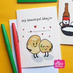 bhajiu greeting card