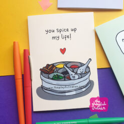 spice dabba indian card