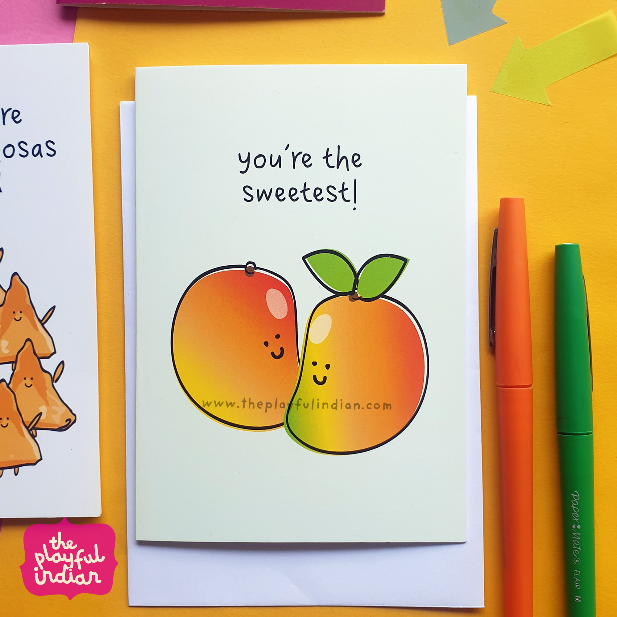 sweetest greeting card