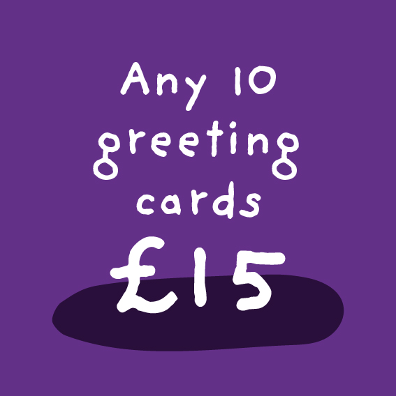 Any 10 Greeting Cards Bundle