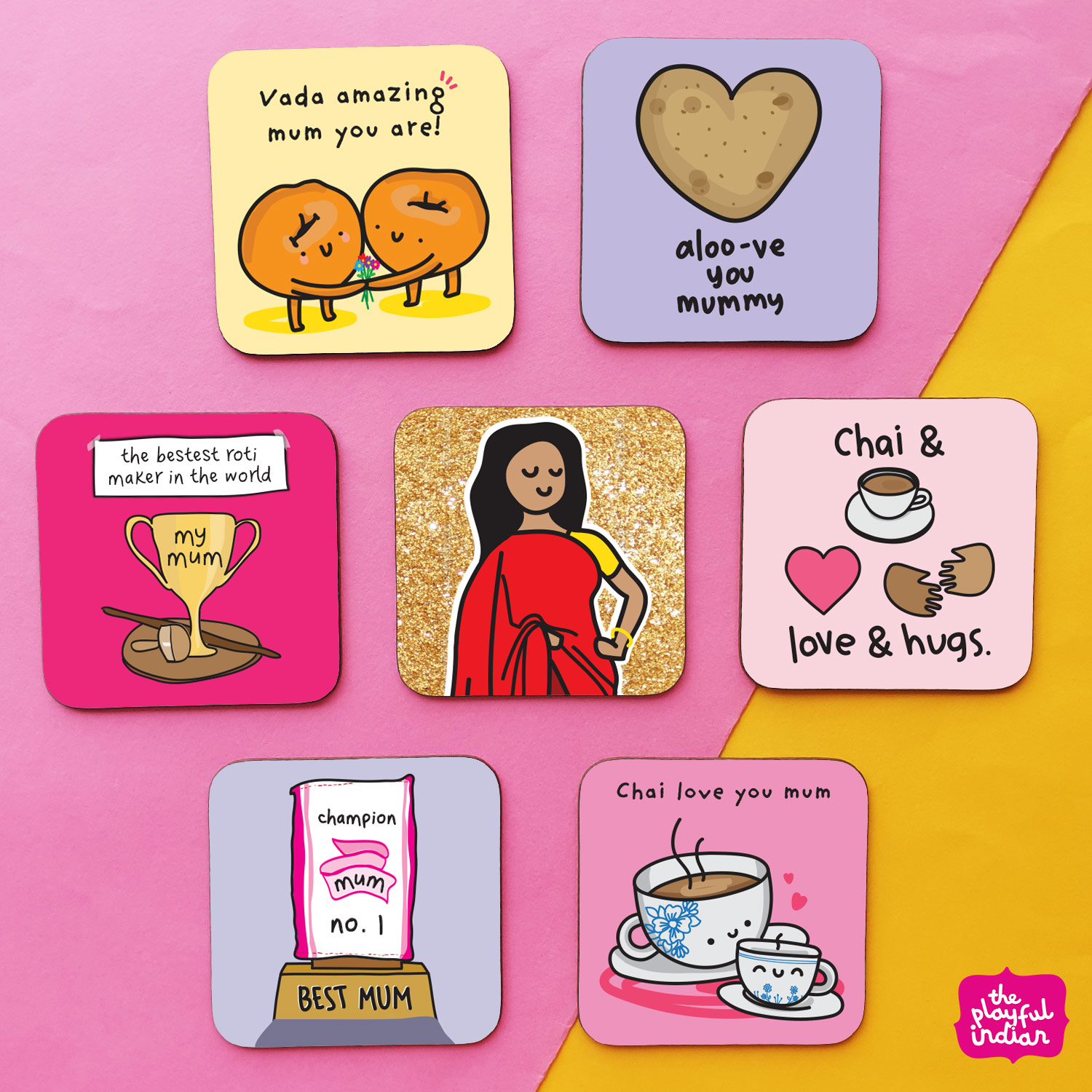 mum - mothers day coaster gift