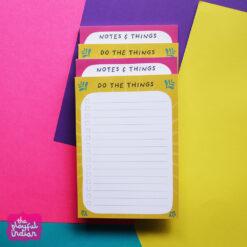 list notepads