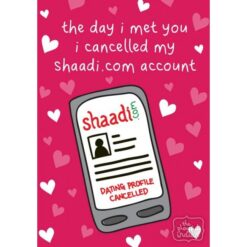 cancelled shaadi account