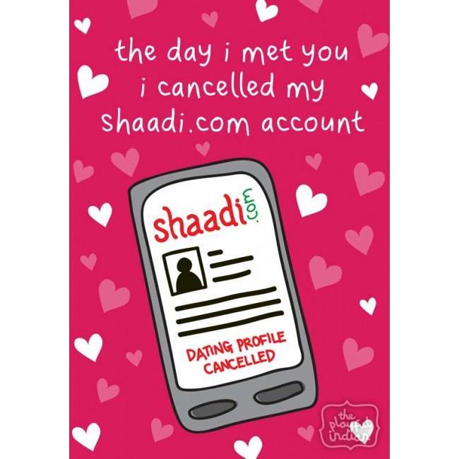 cancelled shaadi account