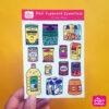 Desi Cupboard Essentials Sticker Sheet