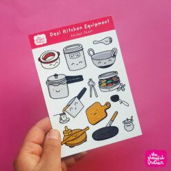 Desi Kitchen Equipment stickers