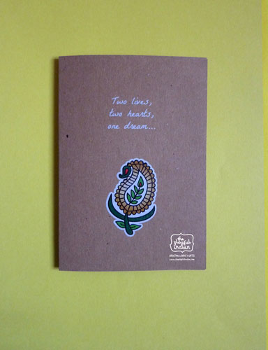Two: Wedding Greeting Card