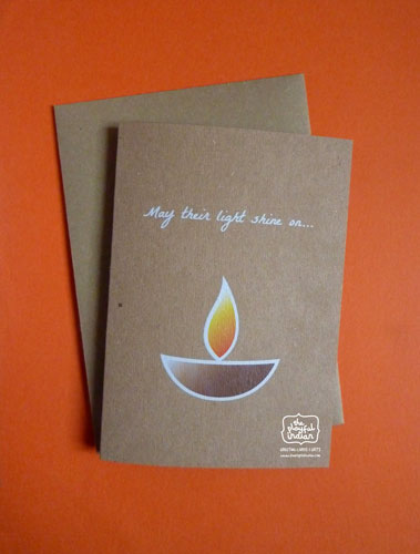 Light Shine On/Grievance Greeting Card