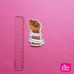 life-is-tough-sticker