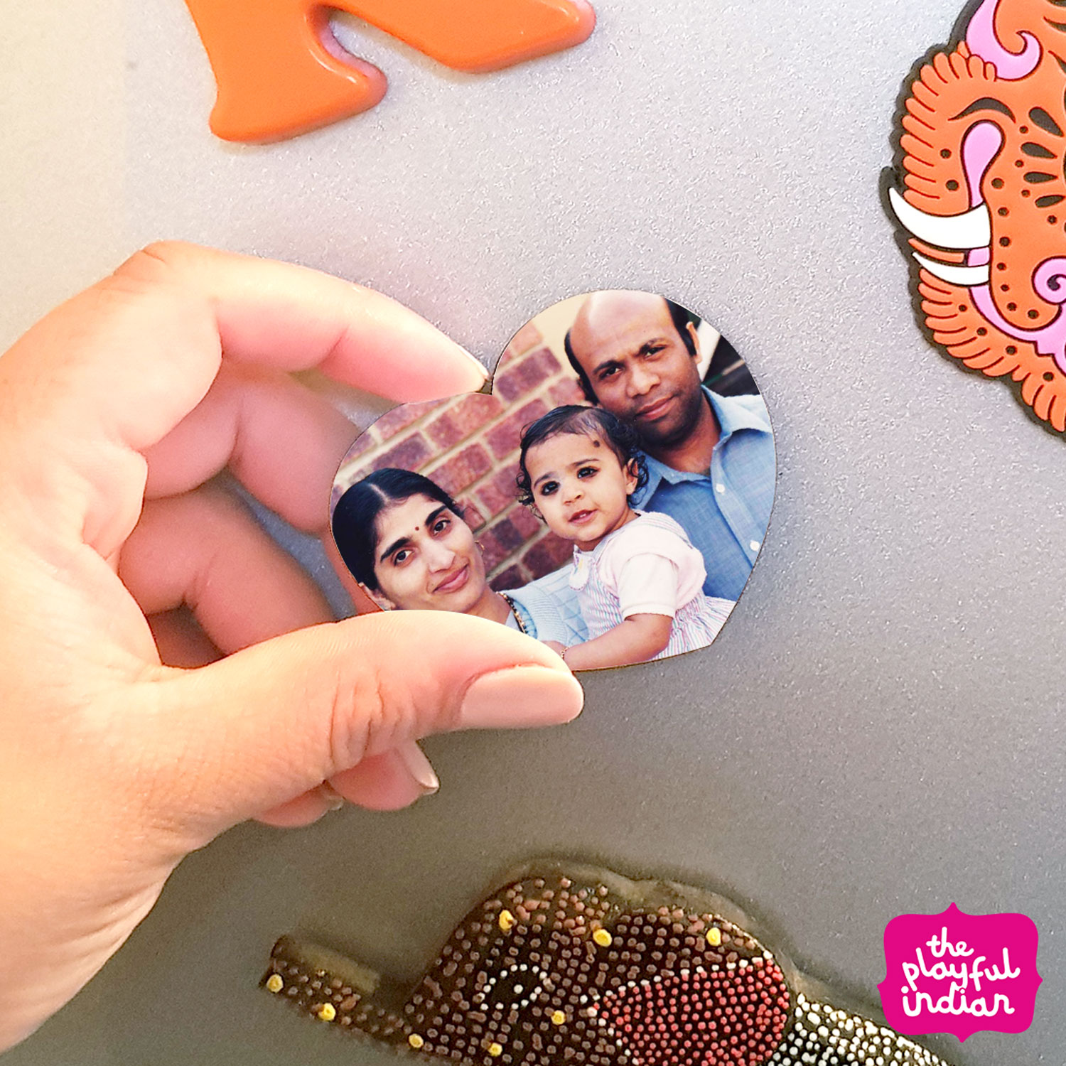 mothers day personalised magnet