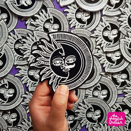 Surya Chandra Vinyl Sticker