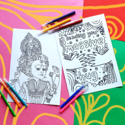 week 4 colouring pages
