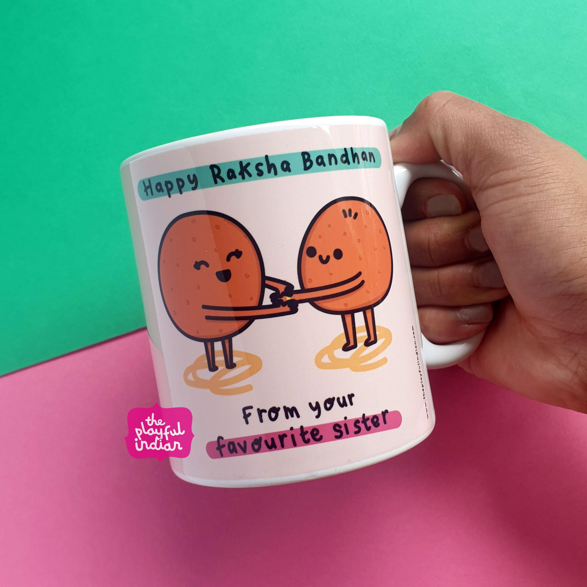 raksha bandhan mug gift