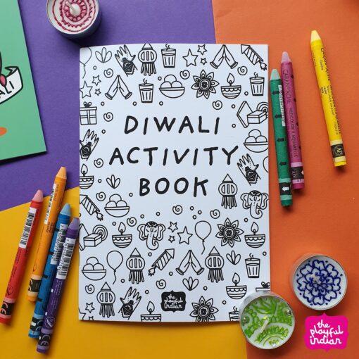 diwali activity book
