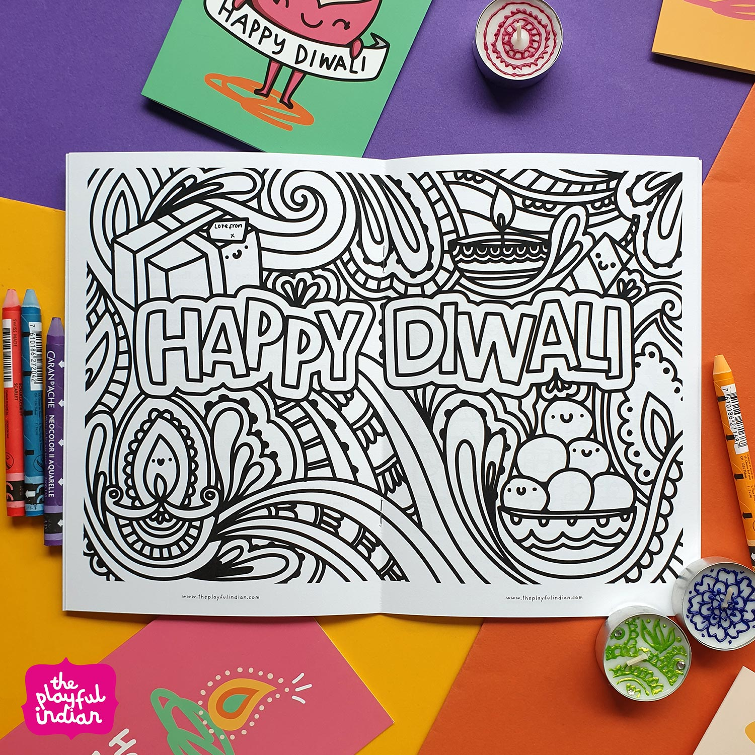 diwali activity book