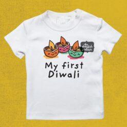 my first diwali tee