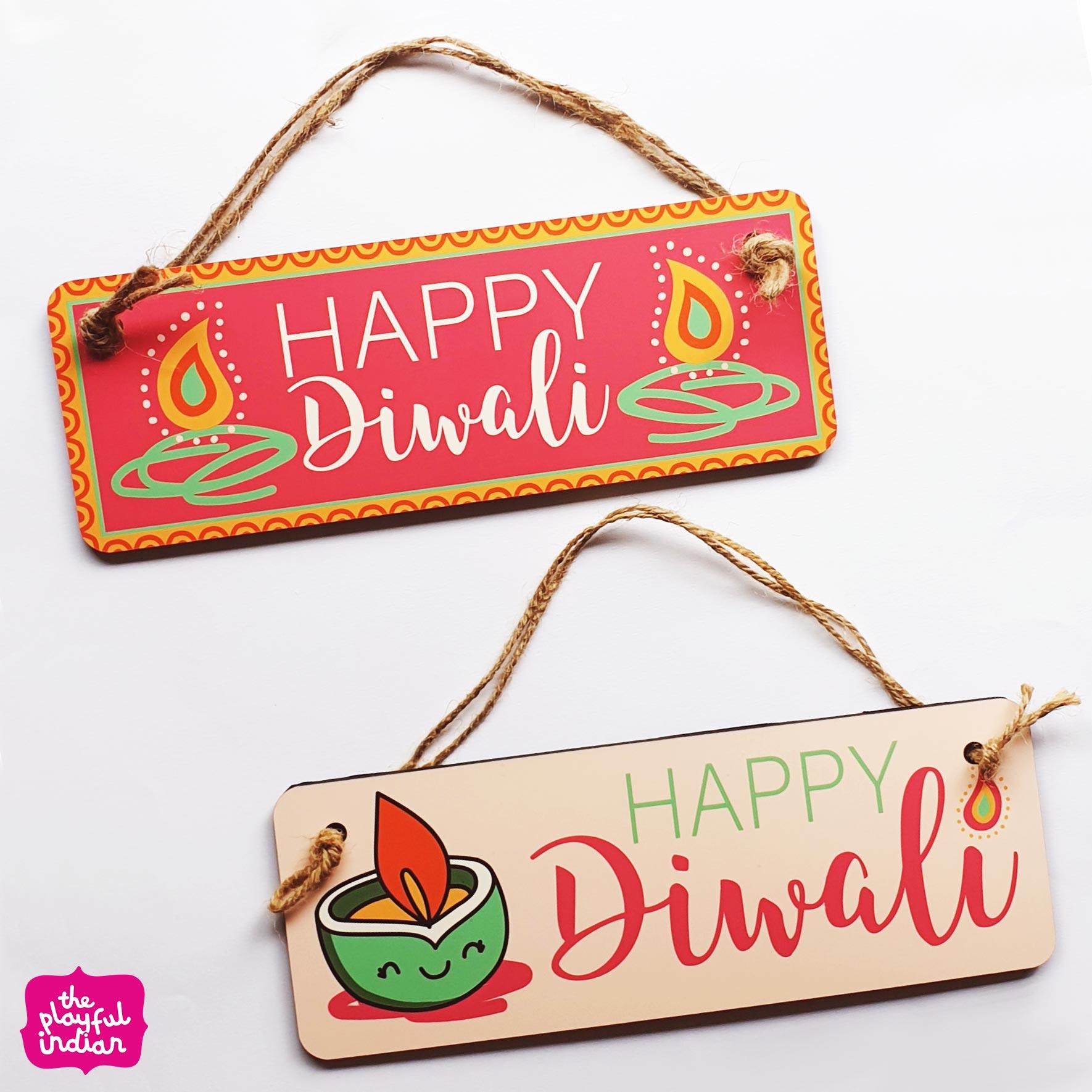 diwali door hangers