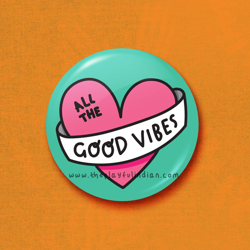 all the good vibes accessory