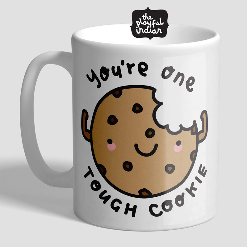 tough cookie mug