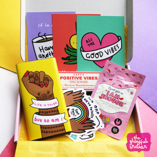 positivity letterbox gift