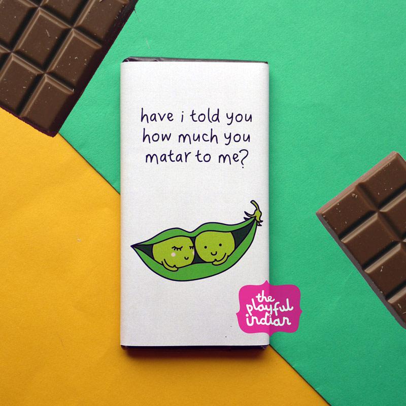 you matar to me chocolate bar