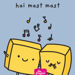th cheese badi hai indian greeting card