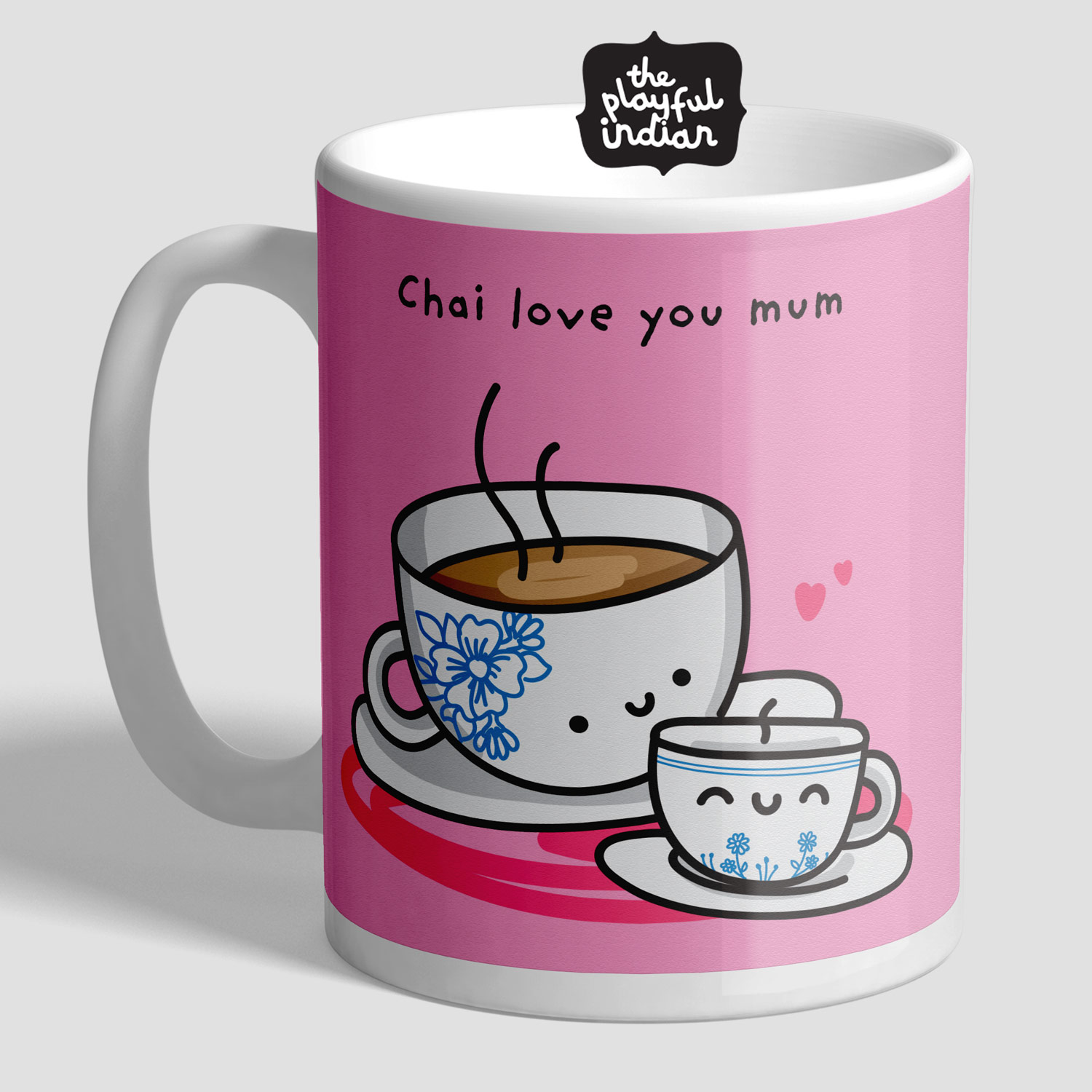 chai love you mum mug