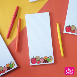 fruit and veg listpad