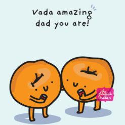 vada amazing dad card