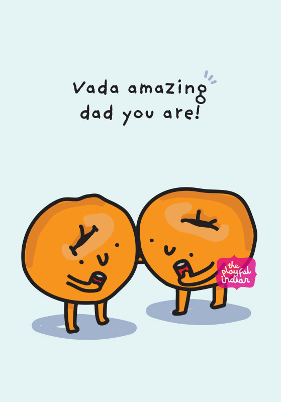 vada amazing dad card
