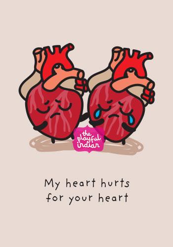 sad news sympathy card