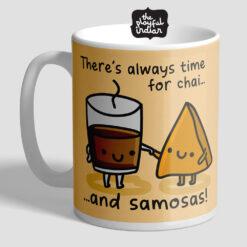 Chai & Samosa Mug
