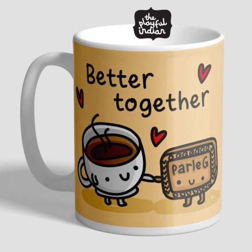 Chai & Biscuit Better Together Mug
