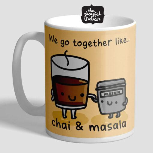 chai and masala mug